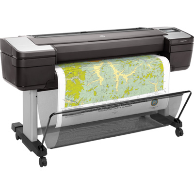 "HP Designjet T1700 PostScript Inkjet Large Format Printer - 44"" Print Width - Color Printer - 6 Color(s) - 26 Second Color Speed - 2400 x 1200 dpi - USB - Ethernet - Roll Paper, Cut Sheet, Bond Paper, Coated Paper, Heavyweight Paper, Super Heavyweight Coated, Matte Film, Technical Paper, Tracing Paper, Translucent Bond, Clear Film, ... - 11"", 8.30"", 33.10"", 23.40"", 16.50"", 11.70"", 8.30"" x 44"", 11"", 46.80"", 33.10"", 23.40"", 16.50"", 11.70"" - Floor Standing Supported"