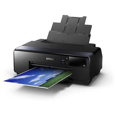 "Epson SureColor P400 Wide Format Inkjet Printer The 13"" wide-format SureColor P400 photo printer features UltraChrome® HG2 Ink for unprecedented print quality. This remarkable 8-color pigment ink set includes Red and Orange inks for vibrant, true-to-life color."
